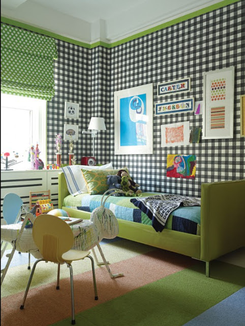 Trend alert the painted home by denise sabia for Wallpaper viva home