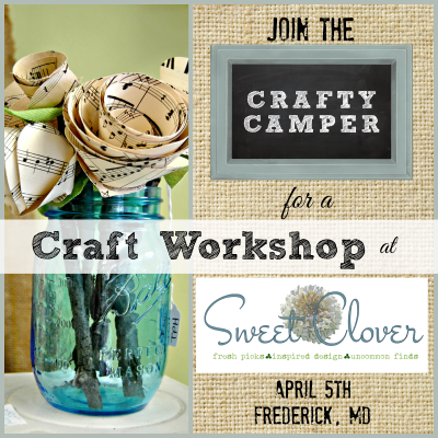 { Crafty Camper Heads to Sweet Clover Barn Sale }