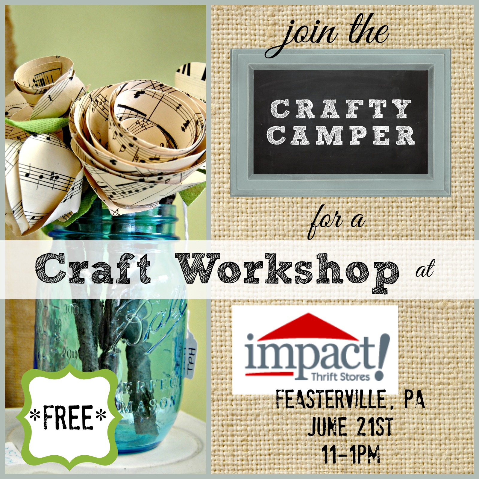 Come craft with me the painted home by denise sabia for Craft store frederick md