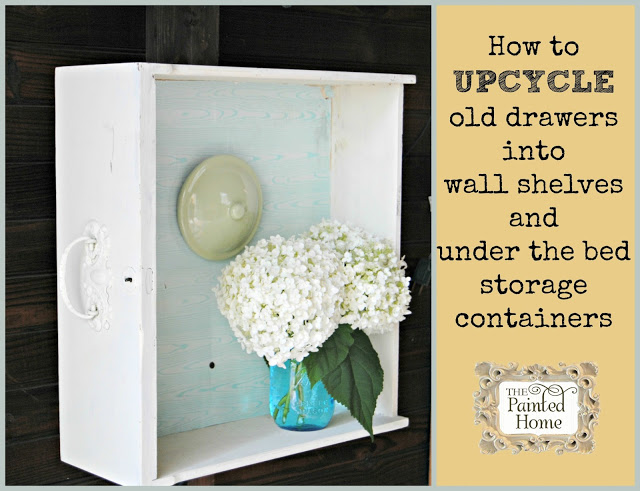 http://www.thepaintedhome.com/2015/07/how-to-upcycle-old-drawers.html