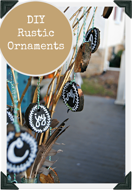 http://www.thepaintedhome.com/2015/11/creating-your-own-rustic-ornaments.html