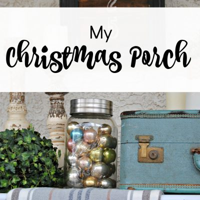 Holiday Curb Appeal – My Christmas Porch