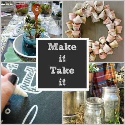 The Painted Home's Make It Take It Workshops