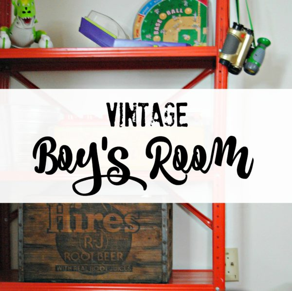 Vintage Boy Bedroom