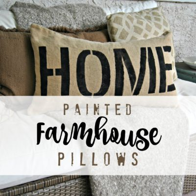 Creating a Farmhouse Style Pillow