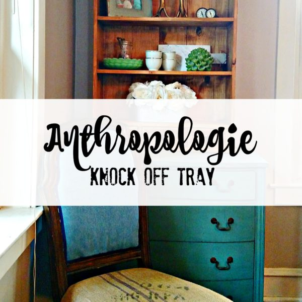 Anthropologie Knock Off Tray