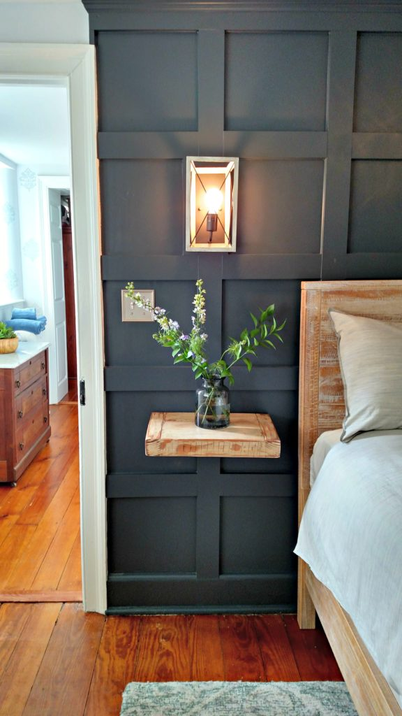 Stone house revival master suite the painted home by for Diy stone house revival