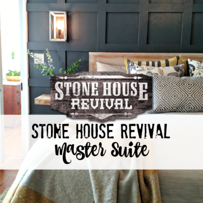 Stone House Revival Master Suite