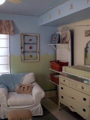 Boy's Beach Themed Bedroom