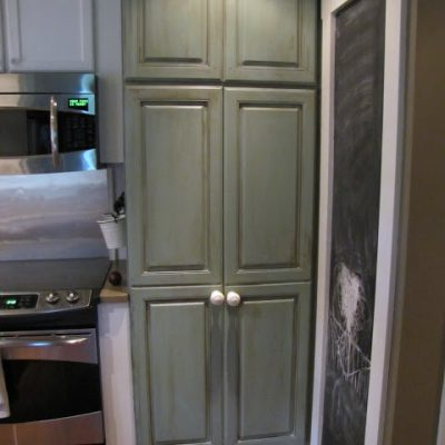 {How to turn a pantry into an Armoire}