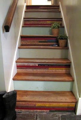 { Yardstick Staircase }