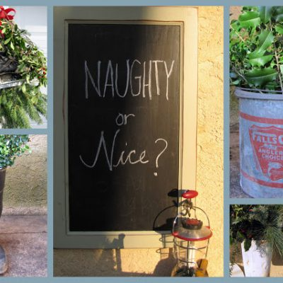 { Outdoor Christmas Decorating }