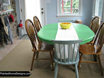 { Breakfast room color refresher }