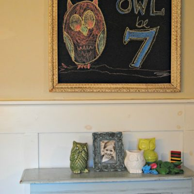 { Lucy's Owl Birthday }