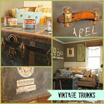 { Vintage Treasure Chest }