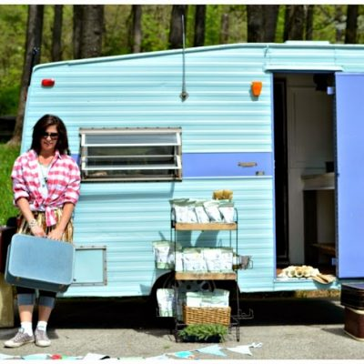 The Painted Home's Vintage Camper
