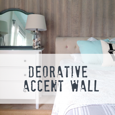 Accent wall for a teenage bedroom